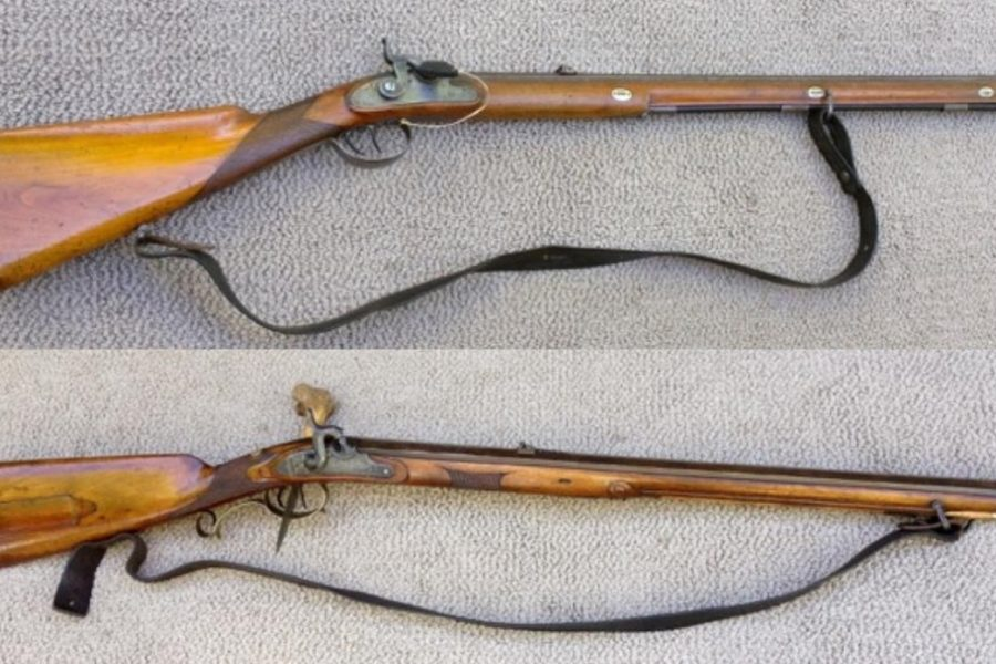 Original Jaeger Rifles (.70 and .58 cal.)